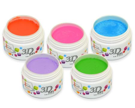 3D Gel – объемный цветной гель