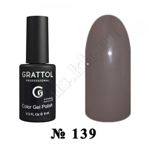 -139 - Grattol Color Gel Polish  Macchiato, 9ml