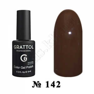 142 - Grattol Color Gel Polish  Ristretto, 9ml