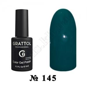 145 - Grattol Color Gel Polish  Shaded Spruce, 9ml
