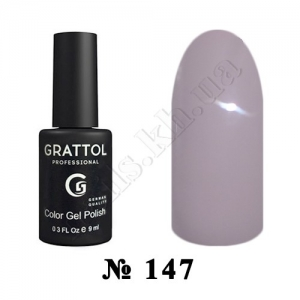 147 - Grattol Color Gel Polish  Gray Beige, 9ml
