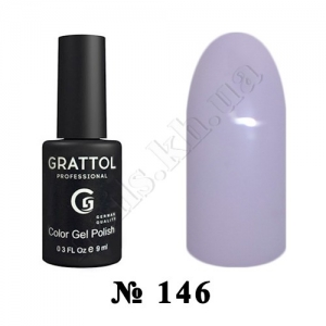 146 - Grattol Color Gel Polish  Gray Pink, 9ml