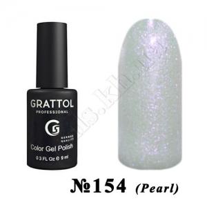 154 - Grattol Color Gel Polish  Milk PEARL, 9 ml