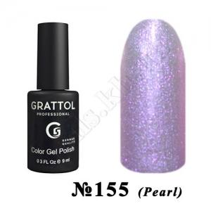 155 - Grattol Color Gel Polish  Violet PEARL, 9 ml