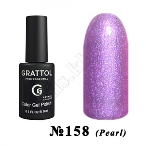 158 - Grattol Color Gel Polish  Rose PEARL, 9 ml
