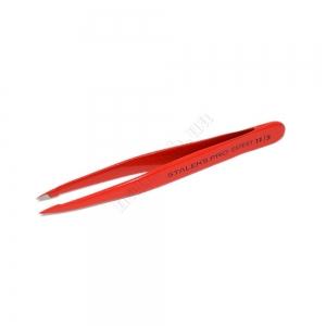 ТE-11/5 Сталекс Пинцет для бровей Expert 11 Type 5 (точечный) фиолетовый