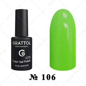 106 - Grattol Color Gel Polish  Grass, 9ml
