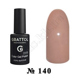 140 - Grattol Color Gel Polish  Сorretto, 9ml
