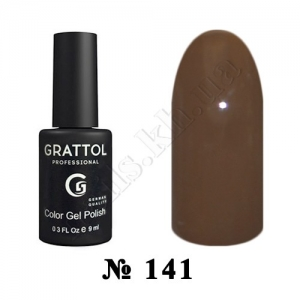 141 - Grattol Color Gel Polish  Espresso, 9ml
