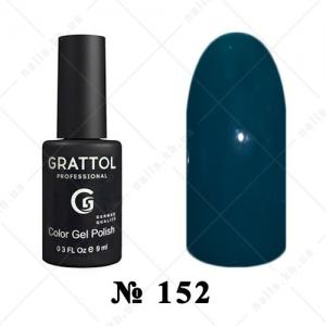 152 - Grattol Color Gel Polish  Blue Spruce, 9ml