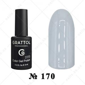 170 - Grattol Color Gel Polish  LONDON Fog, 9ml