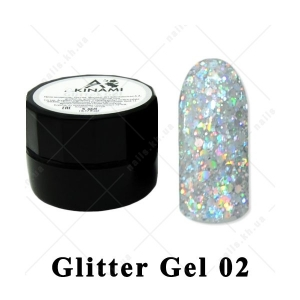 002 - Akinami  Glitter Gel, 5ml