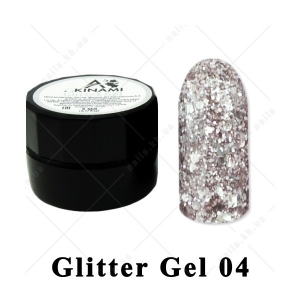 004 - Akinami  Glitter Gel, 5ml