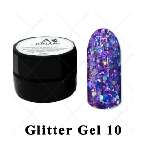010 - Akinami  Glitter Gel, 5ml
