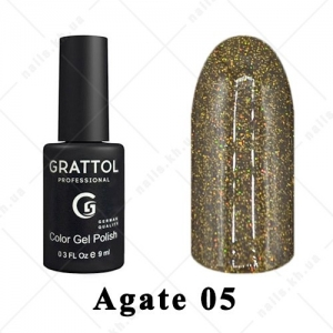 005 - Grattol Color Gel Polish LS  Agate, 9ml