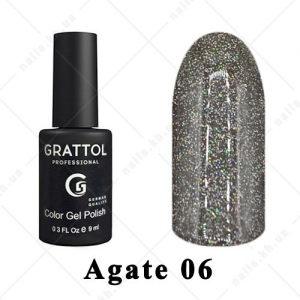 006 - Grattol Color Gel Polish LS  Agate, 9ml