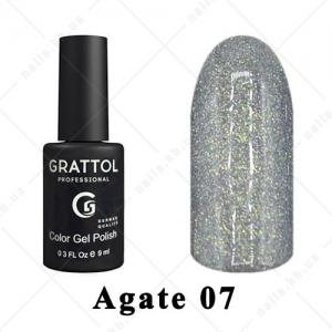 007 - Grattol Color Gel Polish LS  Agate, 9ml