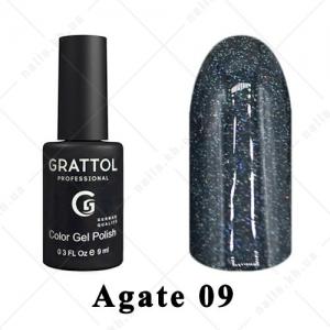 009 - Grattol Color Gel Polish LS  Agate, 9ml