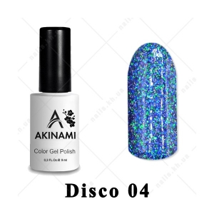 004 - Akinami Color Gel Polish  Disko, 9ml