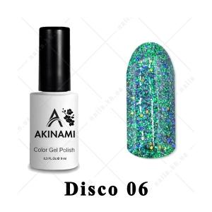 006 - Akinami Color Gel Polish  Disko, 9ml