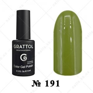 191 - Grattol Color Gel Polish  AUTUMN Olive, 9ml