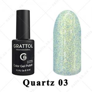 003 - Grattol Color Gel Polish LS Quartz, 9ml