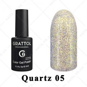 005 - Grattol Color Gel Polish LS Quartz, 9ml