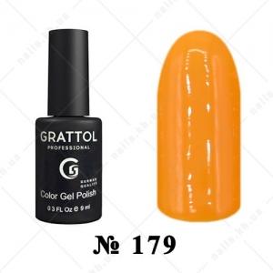 179 - Grattol Color Gel Polish  AUTUMN Yellow Sand, 9ml