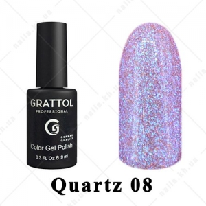 008 - Grattol Color Gel Polish LS Quartz, 9ml