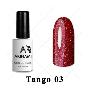 003 - Akinami Color Gel Polish  Tango, 9ml