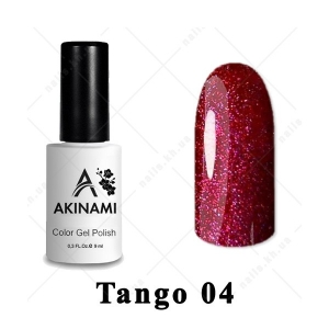 004 - Akinami Color Gel Polish  Tango, 9ml