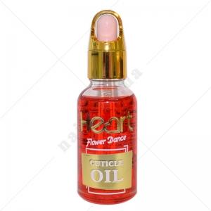 Heart Масло для кутикул Strawberry - Красное, 30 мл