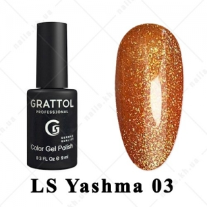 003 - Grattol Color Gel Polish LS  Yashma, 9ml