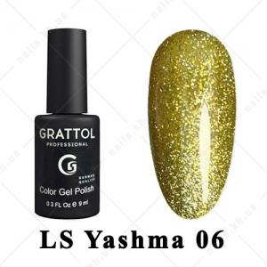 006 - Grattol Color Gel Polish LS  Yashma, 9ml