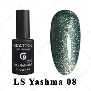 008 - Grattol Color Gel Polish LS  Yashma, 9ml