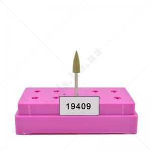 Полировщик силиконовый острый Н 338 f (оливковый) шт
