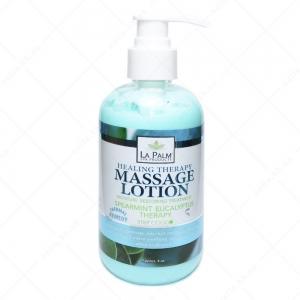 LA PALM Healing Therapy Massage Lotion  / Spearmint Eucalyptus - Мята и эвкалипт 236 мл 236 мл