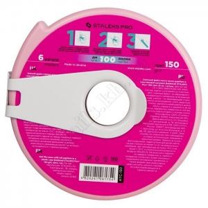 ATC -150 Сталекс Сменный файл-лента PapMam Bobbinail в пластиковой катушке 150 грит, 6 м