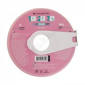 AT-180 Сталекс Сменный файл-лента в пластиковой катушке 180 грит, 8м