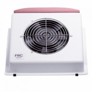 FR`C вытяжка для маникюра F2 с розовой накладкой мощность 60 W, 2500 об./мин. (гарантия 12 мес.)
