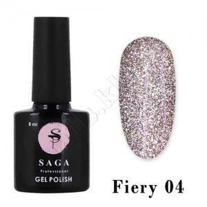 SAGA Гель-лак светоотражающий Fiery № 04, 8 мл
