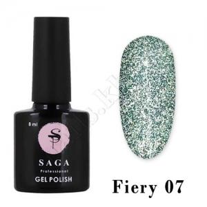 SAGA Гель-лак светоотражающий Fiery № 07, 8 мл
