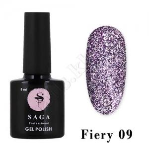 SAGA Гель-лак светоотражающий Fiery № 09, 8 мл