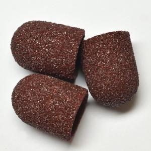 Песочные колпачки д. 13 коричневые грубые  шт