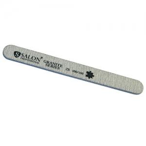 SALON Пилочки 100/100 серая узкая