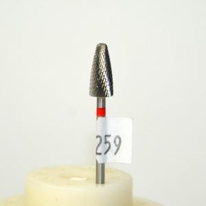 Фреза ТВС № 133 (шишка закругленная, мелкая), желт.полоса шт
