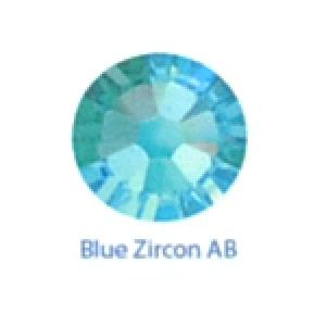 Стразы Swarovski цветные Blue Zircon AB SS5, 100шт