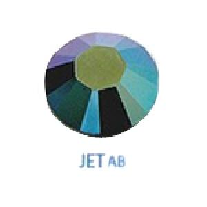 Стразы Swarovski цветные Jet AB SS5, 100шт