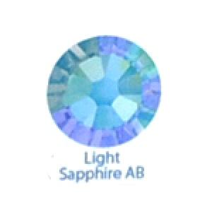 Стразы Swarovski цветные Light Saphire AB SS5, 100шт