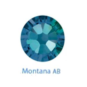 Стразы Swarovski цветные Montana AB SS5, 100шт